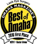 LASIK Eye Surgery Omaha Magazine's Best of Omaha 2016 Winner