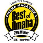 LASIK Eye Surgery Omaha Magazine's Best of Omaha 2018 Winner