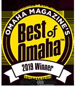 Omaha Magazine's Best of Omaha 2019 Winner