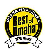 Omaha Magazine's Best of Omaha 2020 Winner