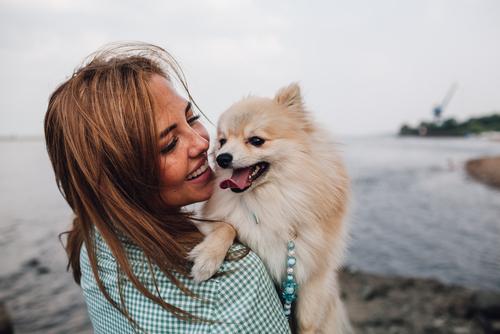 Woman smiling after keratoconus treatment